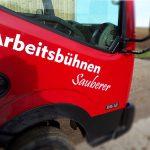 Mobile-LKW-Arbeitsbühne-fahrbar mit Führerschein-B